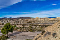 Tabernas desert, Desierto de Tabernas near Almeria, andalusia region, Spain