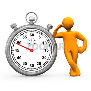 Stopwatch Manikin
