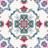 Rosemaling vector pattern 46