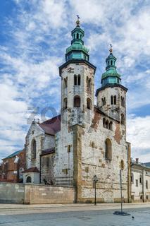 Church of St. Andrew, Krakow, Poland