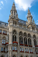 Detail des schönen Wiener Rathauses