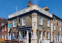 SOUTHWOLD, SUFFOLK, UK - JUNE 2 : Sole Bay Inn in Southwold, Suffolk on June 2, 2010
