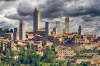 San Gimignano,Toskana,Italien