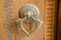 Old Handmade ottoman metal door handle
