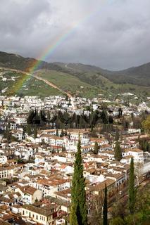 Granada after rain