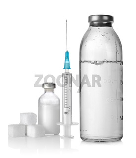 Drop counter and syringe
