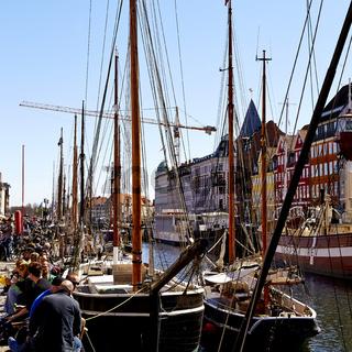 Nyhavn (New Harbour) in Copenhagen, Denmark