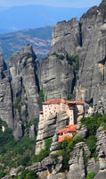 Roussanou monastery from Meteora