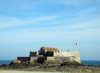Küste bei Saint, Malo, Bretagne