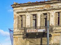 Abandoned Hotel, Athens, Greece