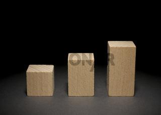 Bauklötze: Säulendiagramm