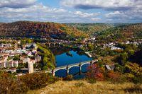 Cahors railway bridge, France