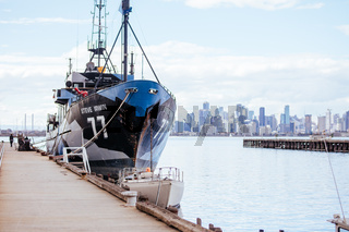 Sea Shepherd Fleet Docked in Melbourne