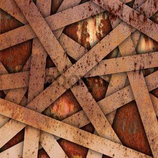 Rusty Metal Background