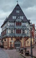 Historisches Fachwerkhaus in Miltenberg am Main, Bayern, Deutschland