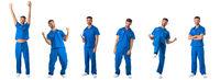 Portraits of male nurse doctor