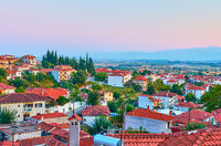 Kalambaka town in Greece