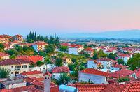 Kalambaka town in Greece