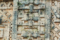 Ancient wall in Mexico