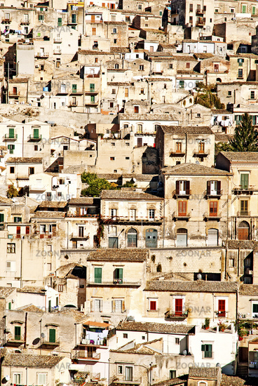 the old town of modica sicily