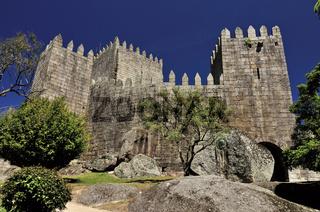Portugal: Burg von Guimarães