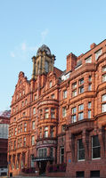 the historic metropole hotel on king street in leeds city centre