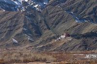 Matho Gompa - a Tibetan Buddhist monastery in Ladakh