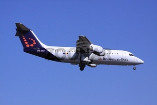 Brussel Airlines im Landeanflug