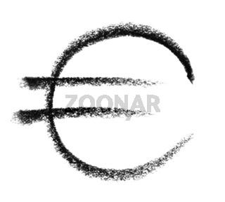 euro symbol sketch