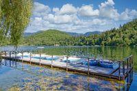 Grosser Montiggler See,Eppan,Südtirol,Italien