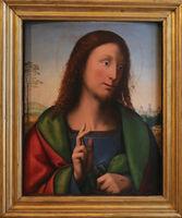 Rome, Galleria Borghese. Salvator Mundi by Bartolomeo Della Porta