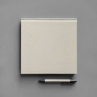 Blank booklet, pencil