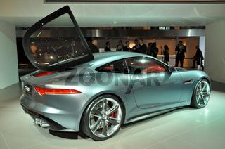 Jaguar auf der IAA