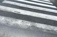 Zebra crossing in a European city.