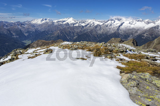 Zillertaler Alpen, Südostansicht
