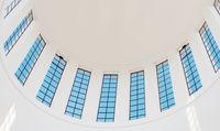 Kuppel-Pavillon, Innenansicht