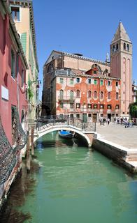 in der Lagunenstadt Venedig