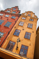 Famous houses on Stortorget square