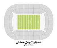 Floor plan of the Johan Cruyff Arena in Amsterdam