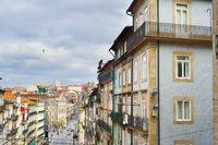 Cityscape Old Town Porto Portugal