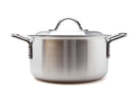 Silver cooking pot