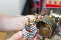 Repair of coffee machine. Spare parts for the espresso machine. Repair of kitchen appliances