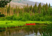 Boat in Canada