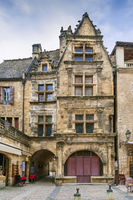 Square in Sarlat-la-Caneda, France
