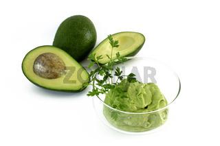 Guacamole mit Avocadofrucht