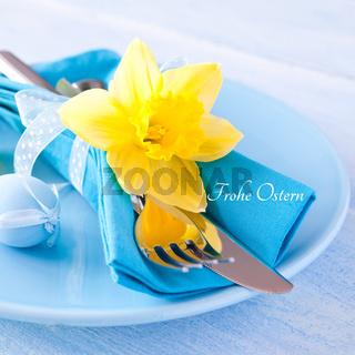 festliches Ostergedeck