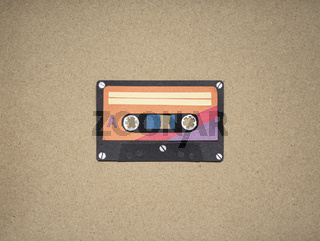 Music Tape 70s . Cut out
