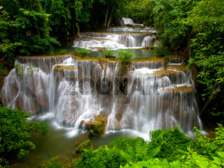 grand Tropical Waterfall