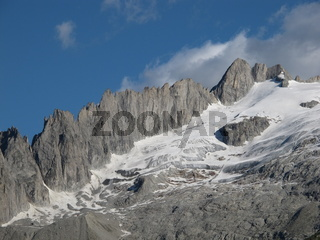 Mountain In Valais Canton