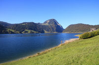 Blue Lake Waegital and Mount Gross Aubrig.